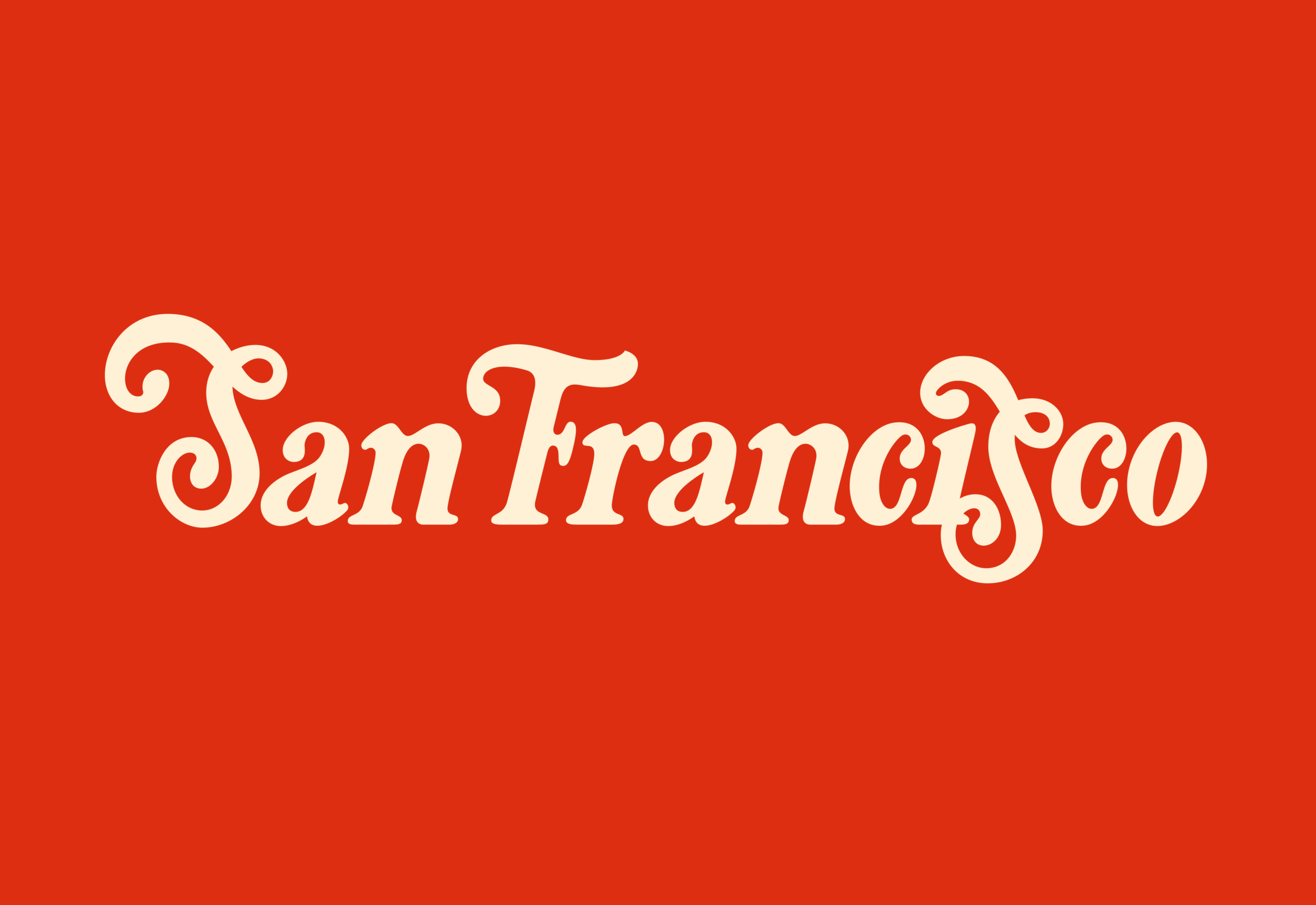 San Francisco Logotype by Mark Lundberg